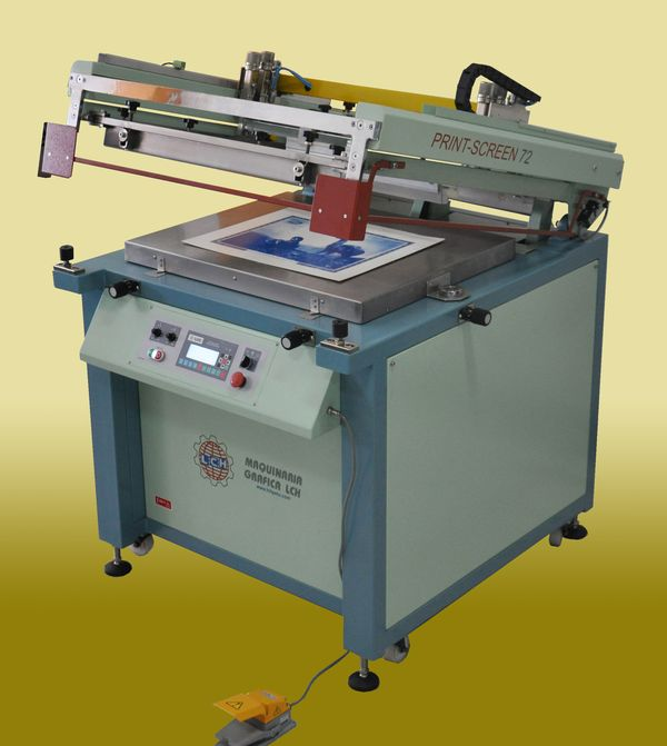 Impresora Serigr 193 Fica Plana Semiautom 193 Tica Mod Print